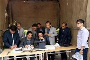 مسابقه نجات تخم مرغ در دانشگاه آزاد اسلامی میانه برگزار شد