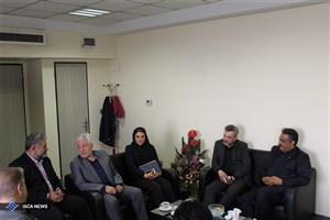 دیدار رئیس فدراسیون اسکواش با مدیرکل تربیت بدنی دانشگاه آزاد اسلامی
