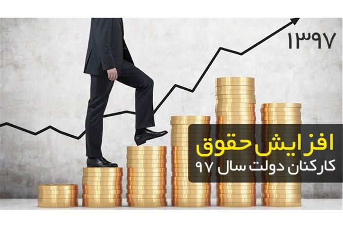 افزایش حقوق