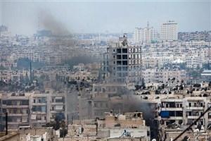 حمله موشکی تروریست ها به دمشق