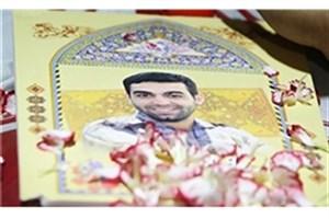 تشییع پیکر دانیال صفری شهید یگان صابرین سپاه برگزار شد