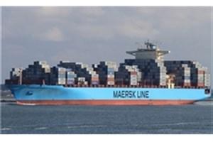 کشتیرانی مرسک همکاری با ایران را متوقف می کند