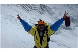 صعود بیمار مبتلا به MS  به قله اورست/ام اس  مرا متوقف نخواهد کرد