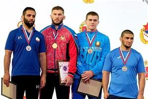 کسب مدال نقره رقابت های کشتی آزاد نظامیان جهان توسط دانش آموخته واحد بجنورد