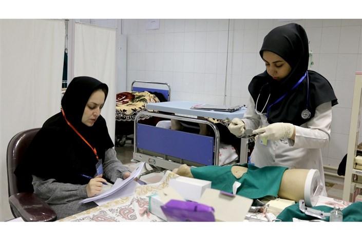 برگزاری دهمین دوره آزمون صلاحیت بالینی دکتری پزشکی عمومی در واحد اردبیل