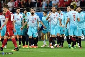 اعلام  فهرست بازیکنان ترکیه برای دیدار با ایران+عکس