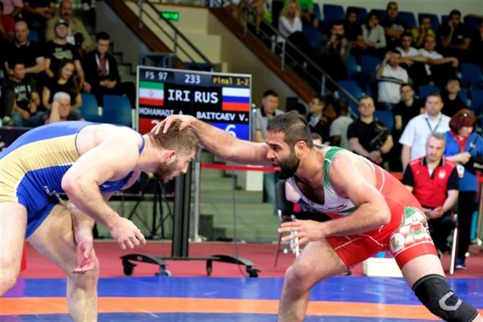 Bojnord IAU Student Finishes in World Military Championship