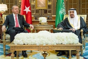 خشم حکام سعودی نسبت به اردوغان