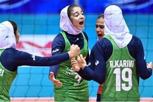 دختران ایران مغلوب استرالیا شدند