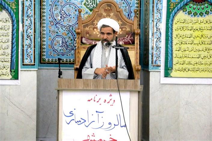 گرامیداشت سالروز آزادی خرمشهر  در واحد اردبیل