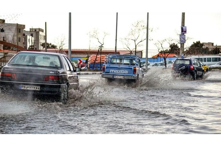 ۱۰ استان کشور درگیر برف، کولاک و سیل و آب گرفتگی