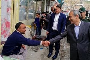 بازدید استاندار آذربایجان شرقی از روستای گردشگری کندوان/ عکس