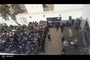 پیکر ناصر ملکمطیعی تشییع شد/انتقاد پرستویی از برنامه دورهمی و مهران مدیری