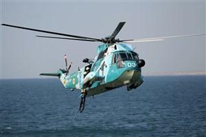 نیروی دریایی ارتش به امکانات جدید ناوگان هوایی مجهز شد
