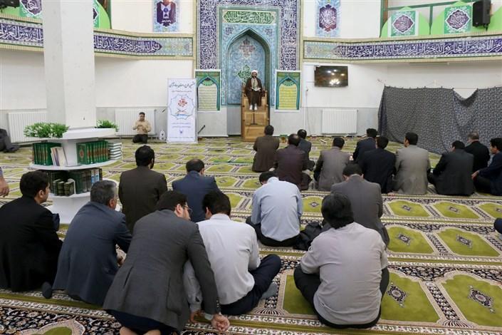 ویژه برنامه سالروز وفات حضرت خدیجه (س) در مسجد واحد اردبیل