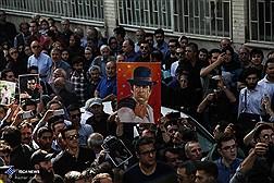 """تشییع پیکر مرحوم """"ناصر ملک مطیعی"""""""