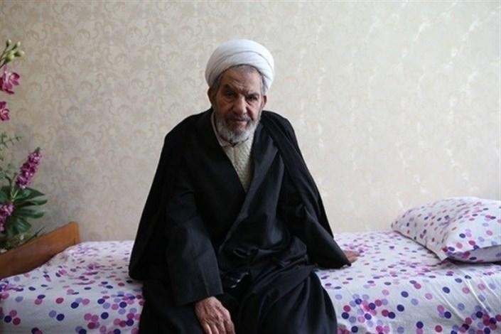 حجت الاسلام و المسلمین حاج شیخ غلامرضا حسنی