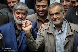انتخاب مجدد پزشکیان و مطهری به عنوان نواب رئیس مجلس