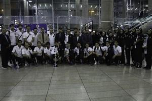بازگشت تیم ملی تکواندو از مسابقات قهرمانی آسیا