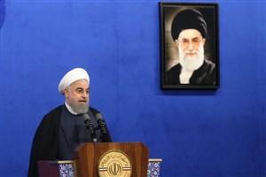 روحانی:بزرگترین درس رمضان، صبر و صلح، و ایستادگی در برابر مشکلات است