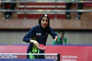 تلاش ملیپوش تنیس روی میز برای کسب سهمیه المپیک نوجوانان