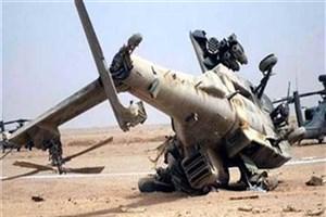 سرنگونی بالگرد سعودی توسط انصارالله