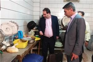 با دستورمدعی العموم  یکی از رستورانهای معروف در جیرفت پلمب شد