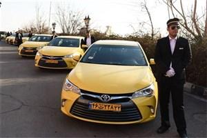 120 دستگاه تاکسی زائران مراسم ارتحال امام (ره) را جابجا می کنند