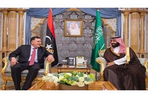 دیدار ولیعهد عربستان و نخست وزیر لیبی
