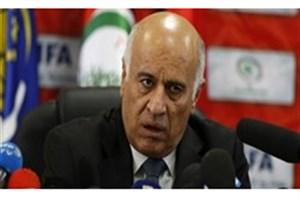 رئیس فدراسیون فلسطین: لغو بازی آرژانتین کارت قرمزی برای صهیونیستها بود