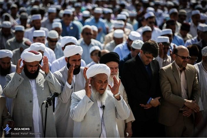 نماز عید فطر اهل سنت  در بندر ترکمن