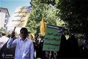تقدیر امام جمعه و استاندار اردبیل ازحضور مردم در راهپیمایی روز قدس