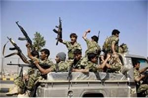 غنیمت گرفتن ادوات جنگی  اماراتی توسط انصارالله