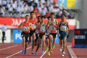 مدال نقره دوی ۸۰۰ متر جوانان آسیا برای نماینده ایران
