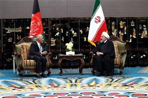روحانی:افغانستان امن و باثبات، لازمه امنیت و توسعه منطقه است