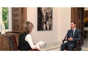 بشار اسد: کلاه سفیدها ابزار دست انگلیس هستند