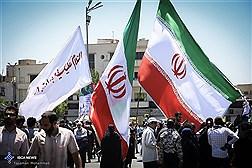 وعدهگاه فرهنگیان تهران برای شرکت در راهپیمایی روز قدس