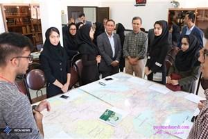 اعضای باشگاه کتاب دانشگاه آزاد اسلامی اوز با مشاور وزیر فرهنگ و ارشاد اسلامی دیدار کردند