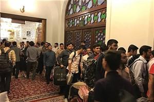 مراسم اعتکاف دانشجویی دانشگاهیان مشهد برگزار شد