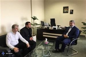دیدار رئیس فدراسیون نجات غریق با مدیرکل ورزش و تربیت بدنی دانشگاه آزاد اسلامی