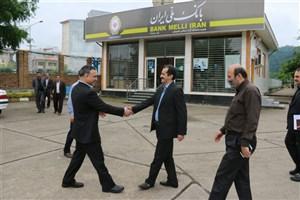 تبدیل باجه بانک ملی مستقر در دانشگاه آزاد  اسلامی واحد لاهیجان به شعبه
