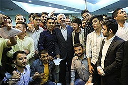 ضیافت افطاری دانشجویان غیر ایرانی دانشگاه آزاد