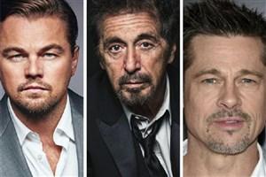 سه ستاره هالیوود مقابل دوربین تارانتینو