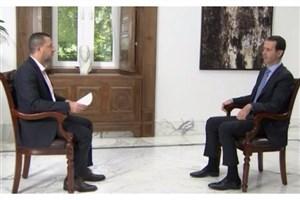 بشار اسد:رابطه ایران و سوریه راهبردی است