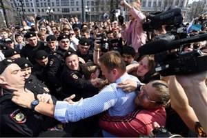 رهبر مخالفان روسیه آزاد شد