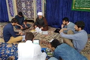 اعتکاف رمضانی طلاب حوزه علمیه هامبورگ