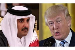 تماس تلفنی امیر قطر با دونالد ترامپ