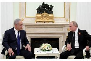 مذاکره تلفنی نتانیاهو و پوتین درباره سوریه