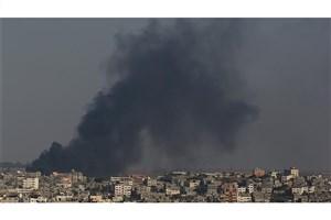 حمله هوایی سنگین صهیونیست ها به نوار غزه