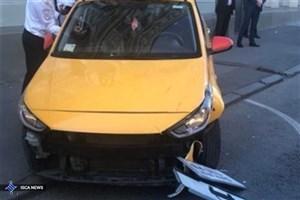 برخورد تاکسی با عابران پیاده در مسکو ۸ زخمی برجای گذاشت